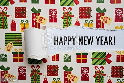 873333520 istock photo Happy new year 1071777524