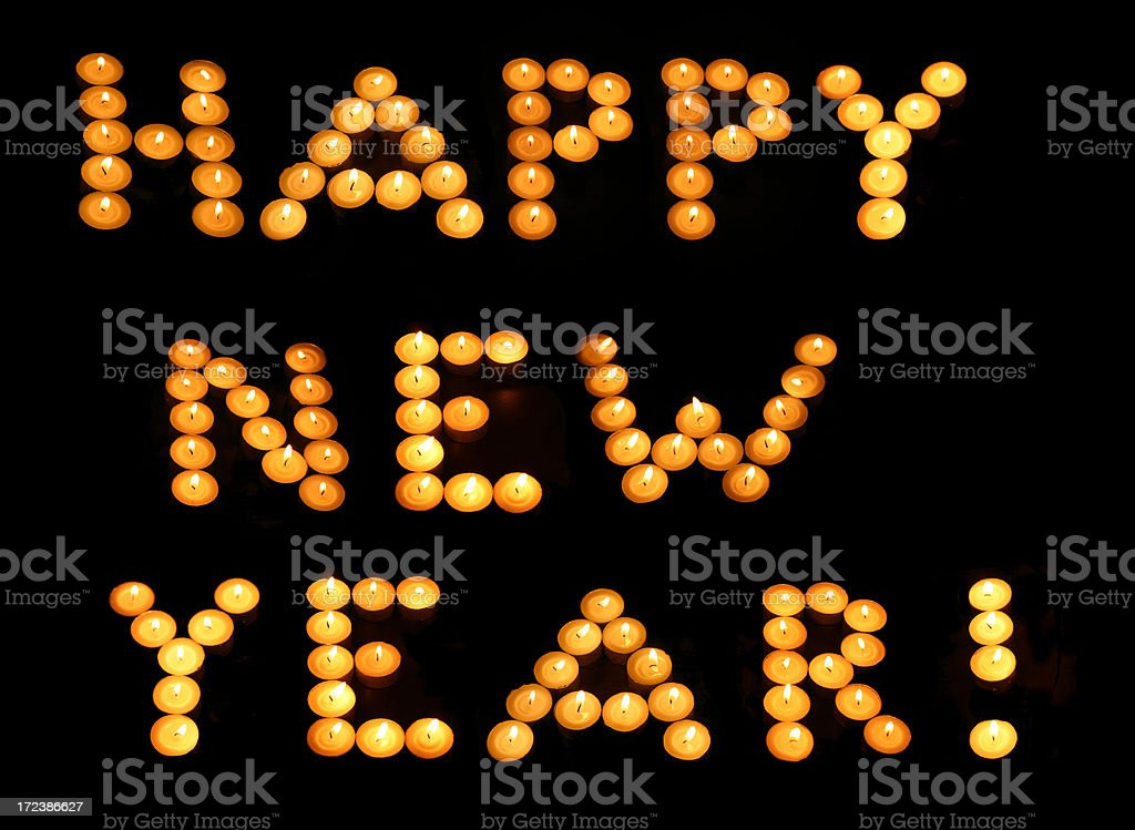 Happy new year! royalty-free stock photo