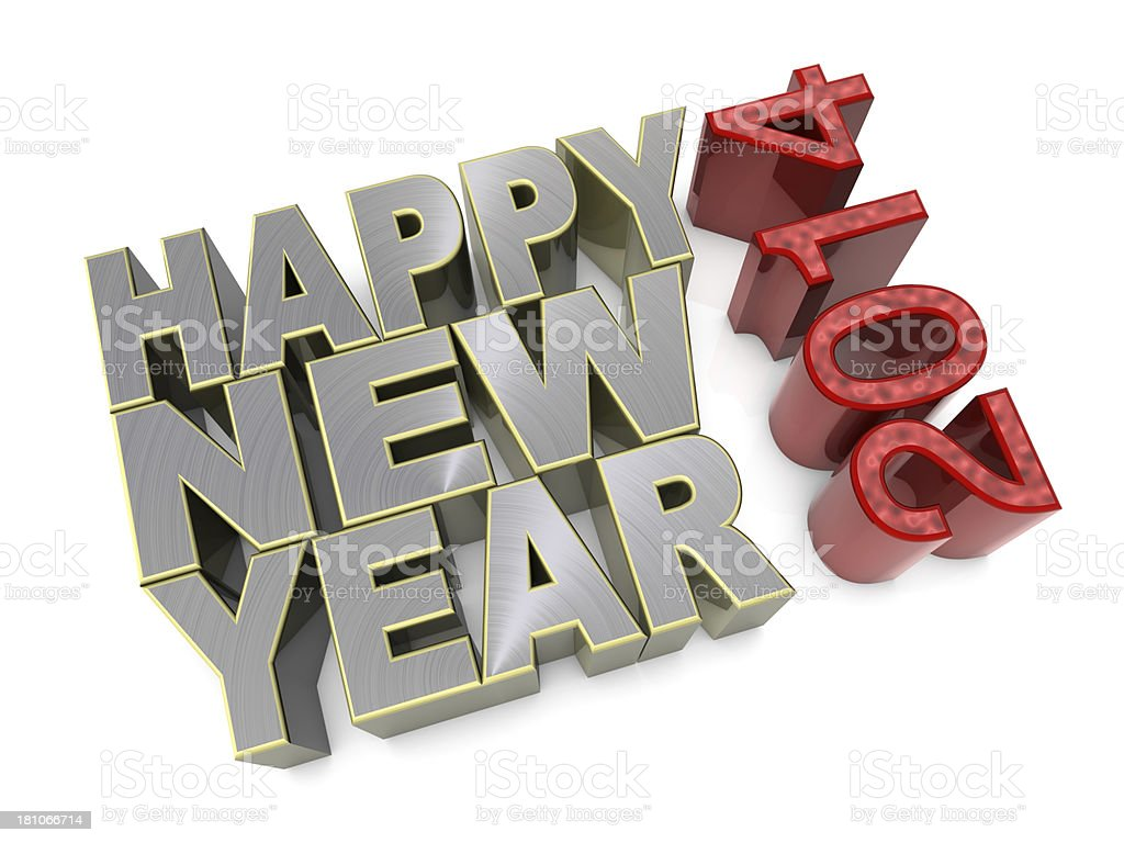 Happy New Year royalty-free stock photo