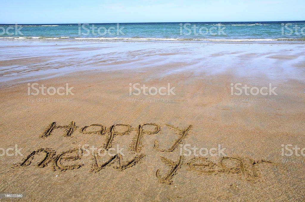 Felice anno nuovo - foto stock