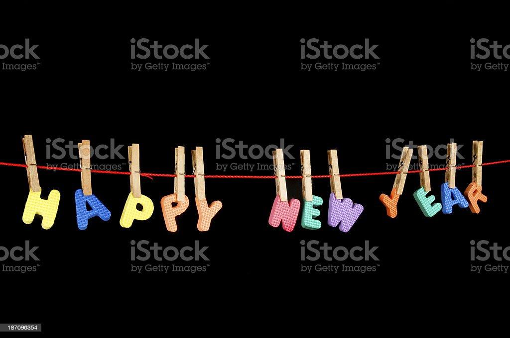 happy new year, royalty-free stock photo