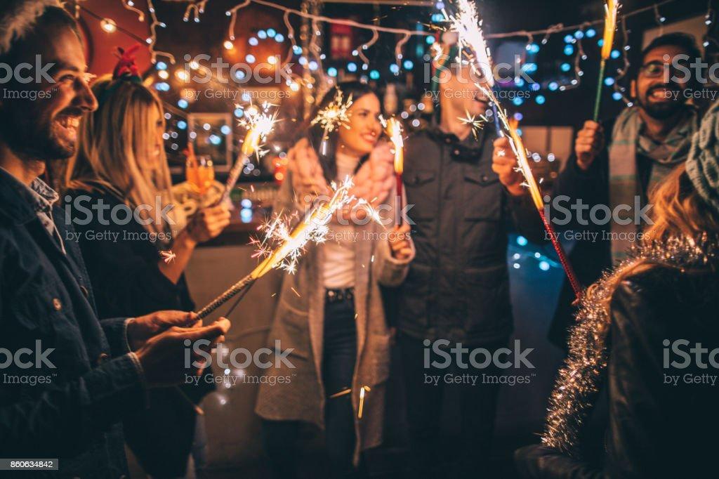 Happy New Year!!! stock photo