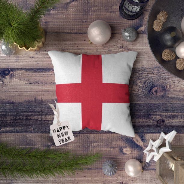 Happy new year tag with england flag on pillow christmas decoration picture id1128276213?b=1&k=6&m=1128276213&s=612x612&w=0&h=pl5aiydas1tc7u9834f fqa8c4zzlzqyh6zah2vsc 0=