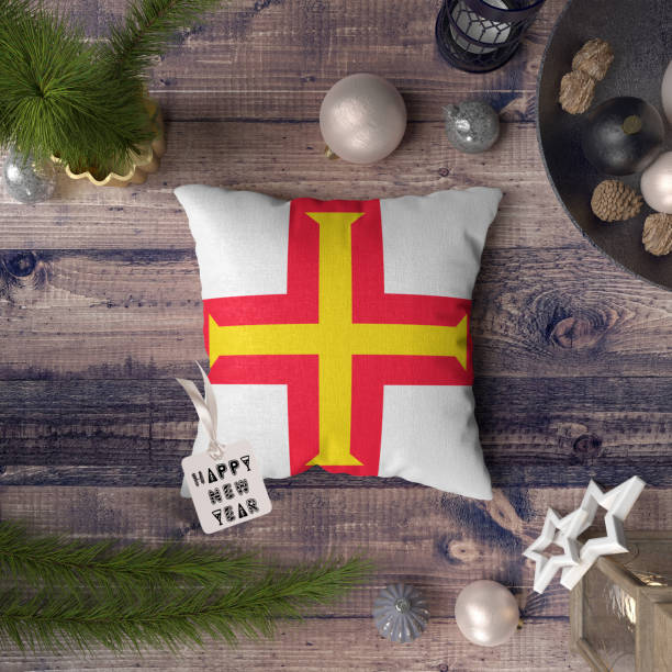 Happy new year tag with guernsey flag on pillow christmas decoration picture id1128278869?b=1&k=6&m=1128278869&s=612x612&w=0&h=kcw4zouz6j8mbnmjqcmkgtm4lomu1qcv4s0jcszjm9a=