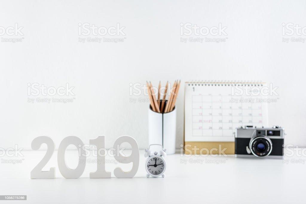 Photo Libre De Droit De Thème De Bonne Année 2019 Concept De