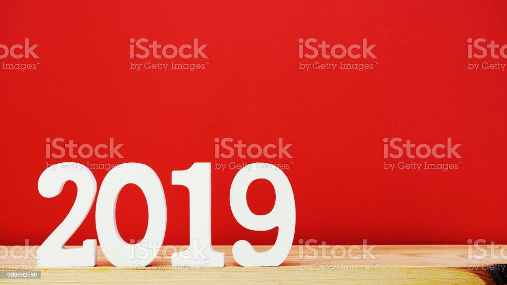 gott nytt år med utrymme bakgrund - Royaltyfri 2019 Bildbanksbilder
