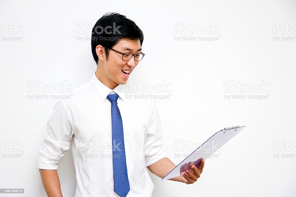 Happy News stock photo