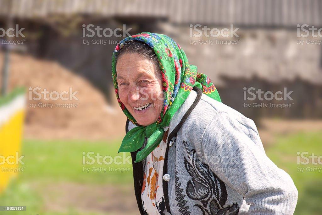 happy old age stock photo