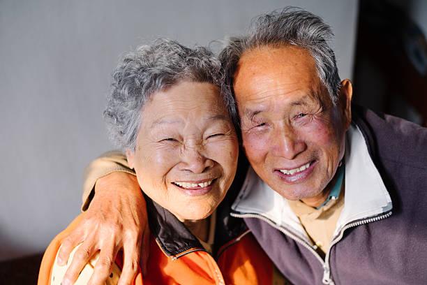 Glücklich Altes Paar – Foto