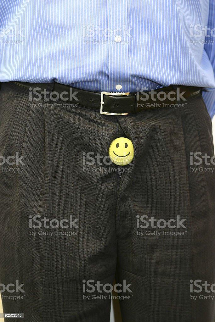 Happy pants 2 royalty-free stock photo