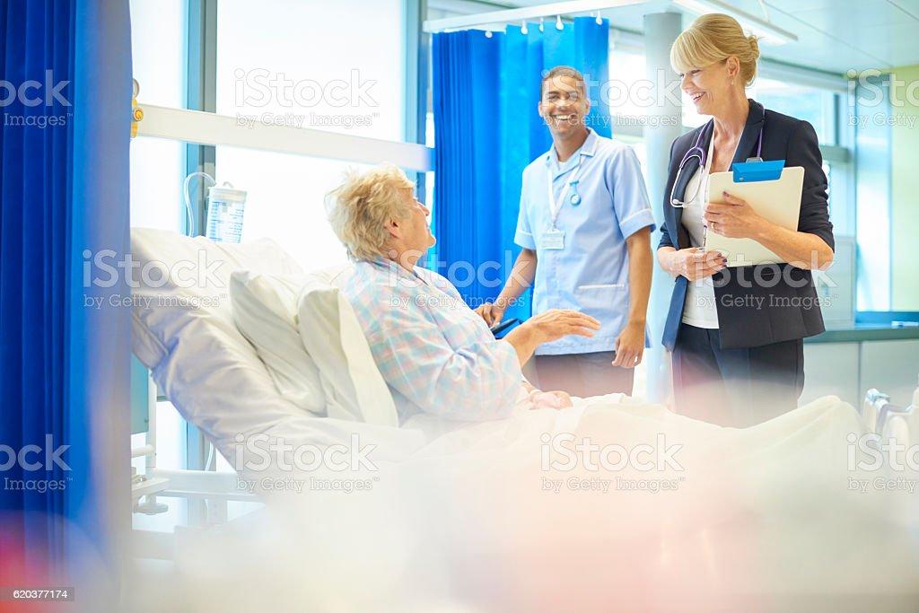 Szczęśliwy pacjenta zbiór zdjęć royalty-free