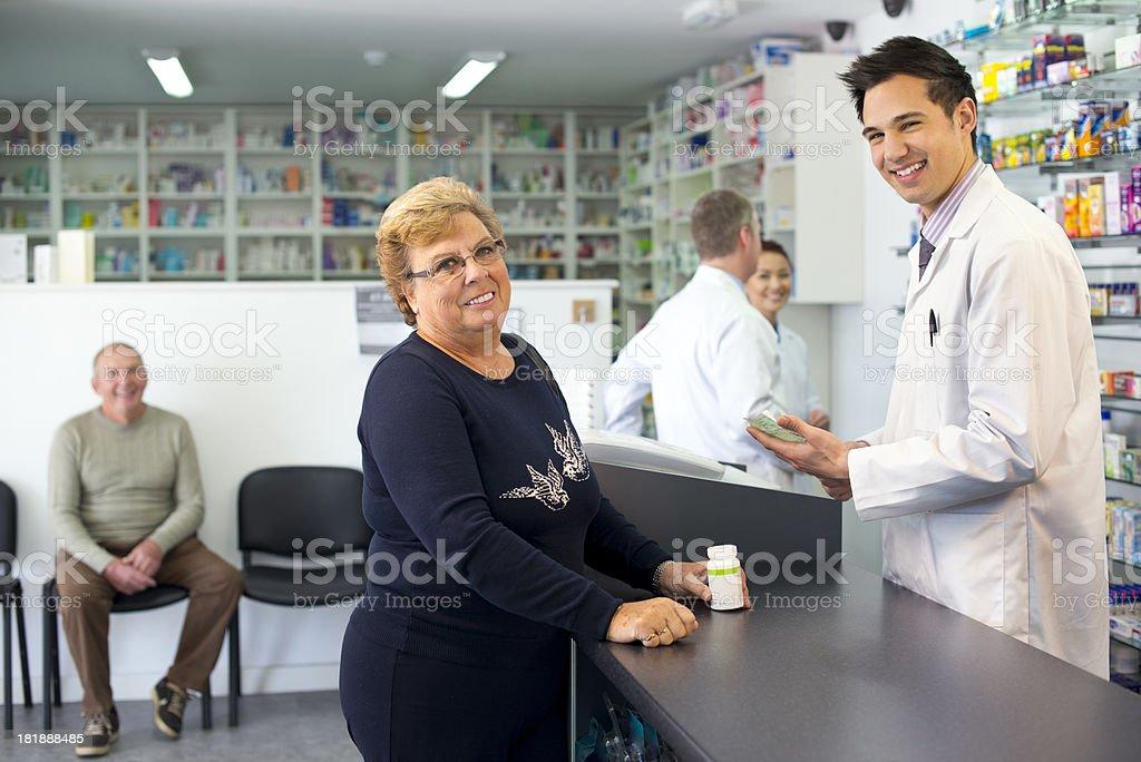 happy  pharmacy royalty-free stock photo