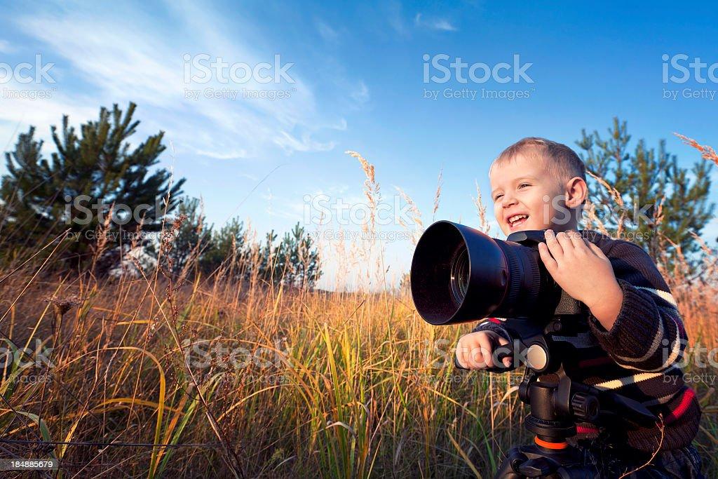 Happy Photographer royalty-free stock photo
