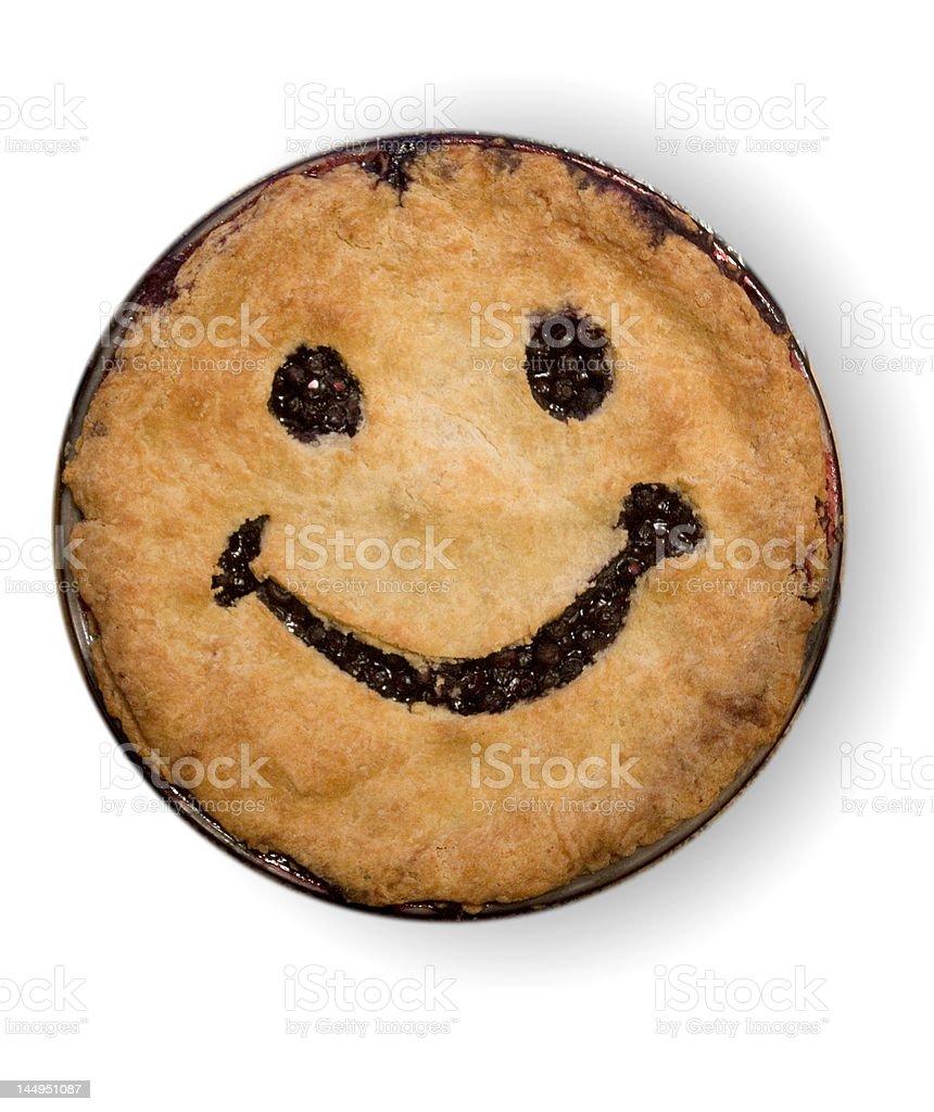 Happy Pie royalty-free stock photo