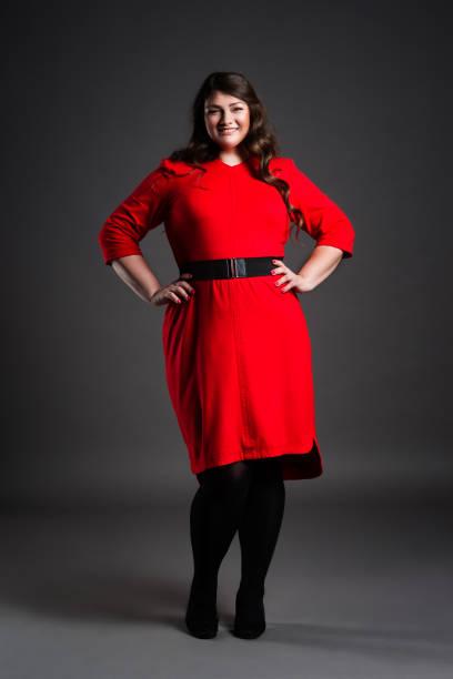 Vestidos Bonitos Para Gorditas Banco De Fotos E Imágenes