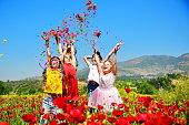 Happy Poppy Girls.