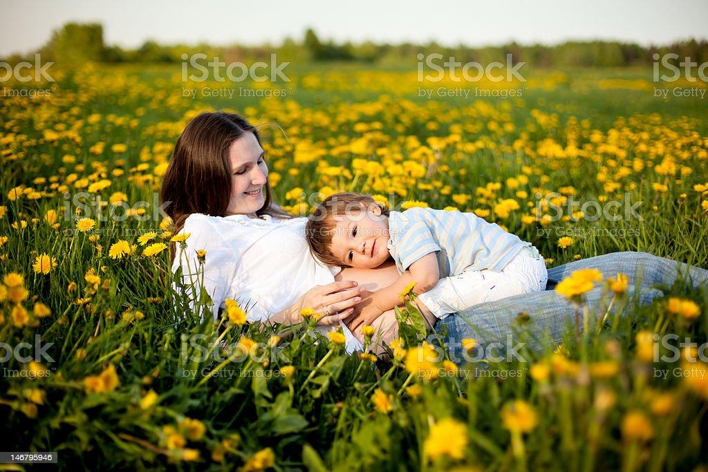 happy pregnancy royalty-free stock photo