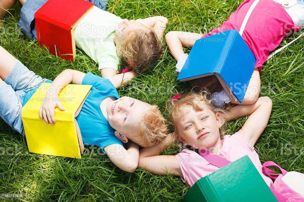 Happy preschoolers – Foto