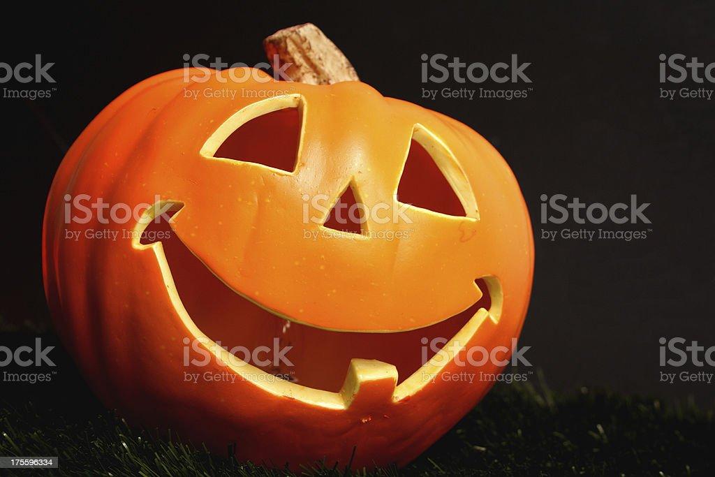Happy pumpkin royalty-free stock photo