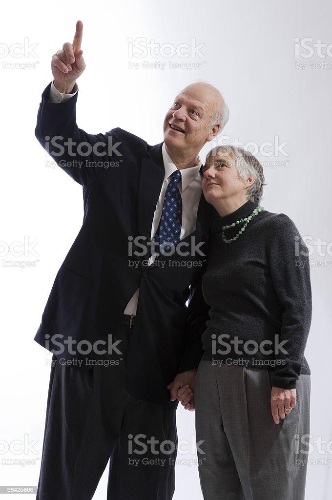 Happy Retired Couple royalty-free stock photo