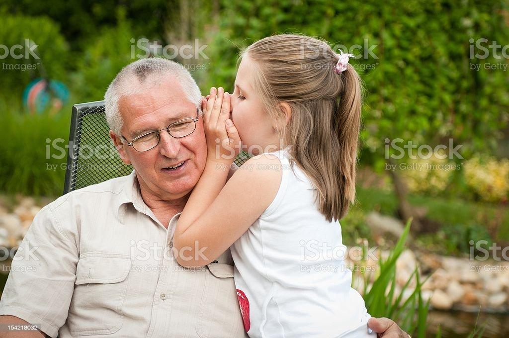 Happy retirement royalty-free stock photo