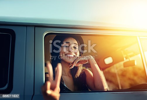 695470496istockphoto Happy road tripping! 688011632