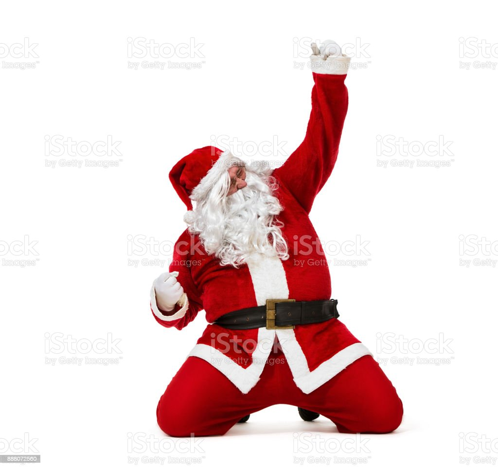 Happy Santa Claus - foto stock
