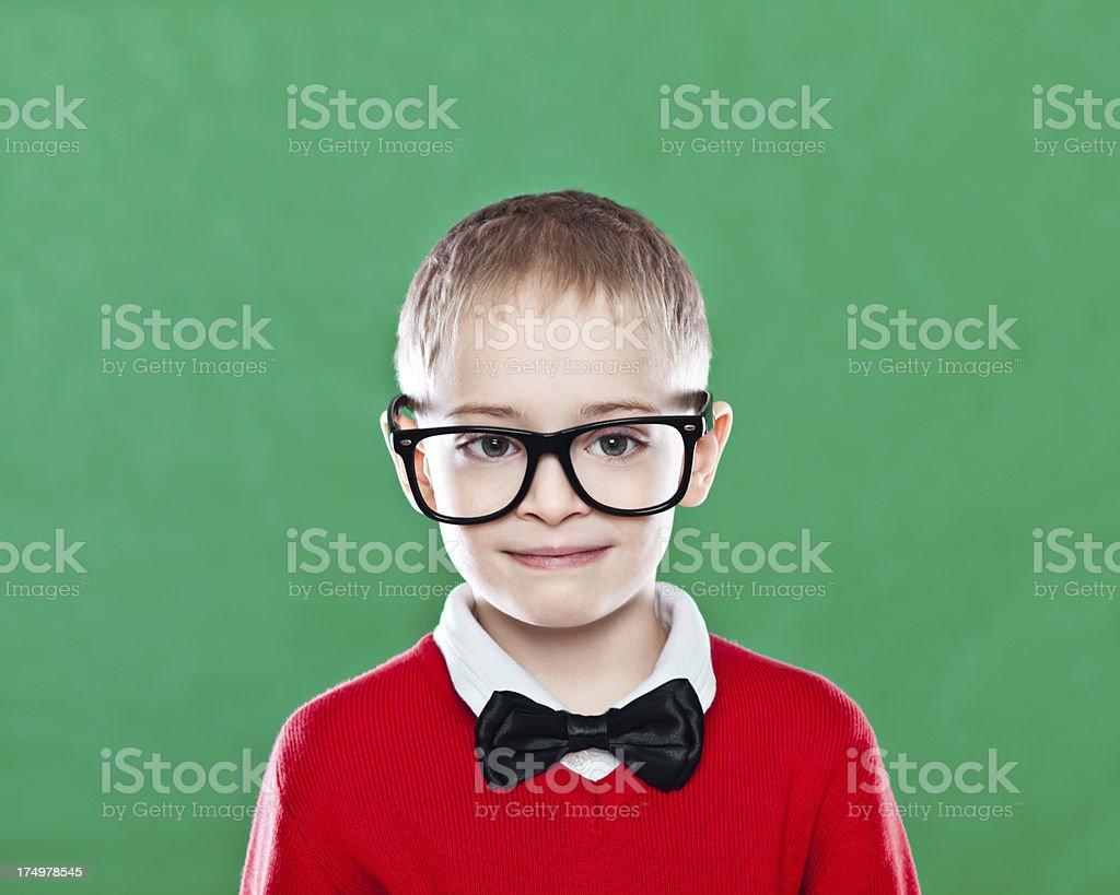 Happy Schoolboy royalty-free stock photo