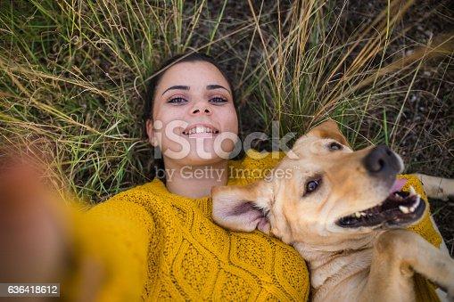 istock Happy selfie! 636418612