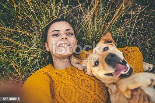 istock Happy selfie! 687159946