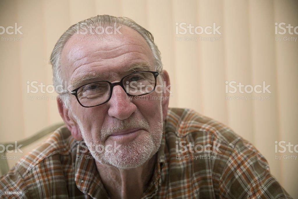 Happy Senior 1 royalty-free stock photo