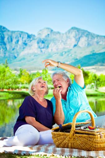 Happy Senior Couple Stock Photo - Download Image Now