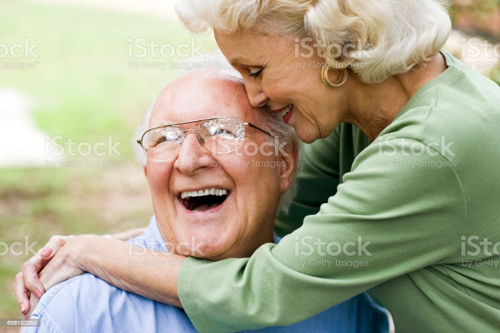 Happy Senior Paar – Foto