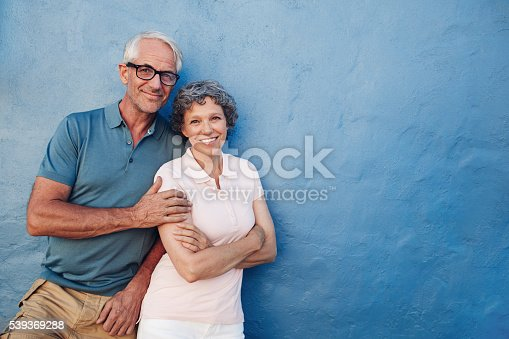 529076288 istock photo Happy senior man and woman together 539369288