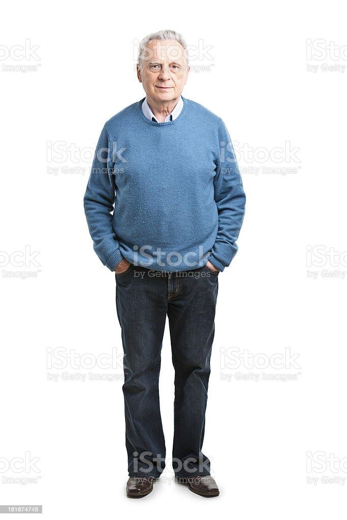 Heureux homme senior - Photo