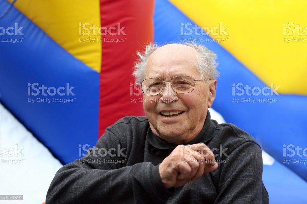 Happy senior man - Royalty-free Active Seniors Stock Photo
