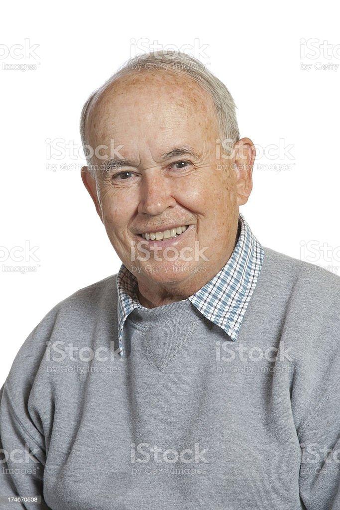 Happy Senior royalty-free stock photo