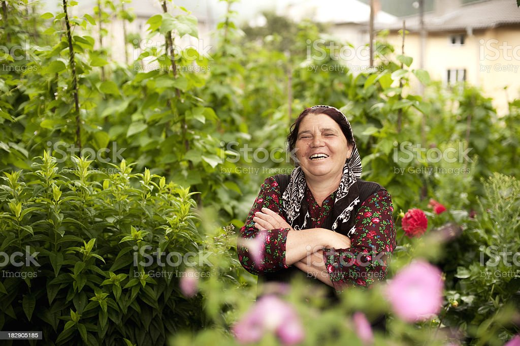 Happy Senior Woman royalty-free stock photo