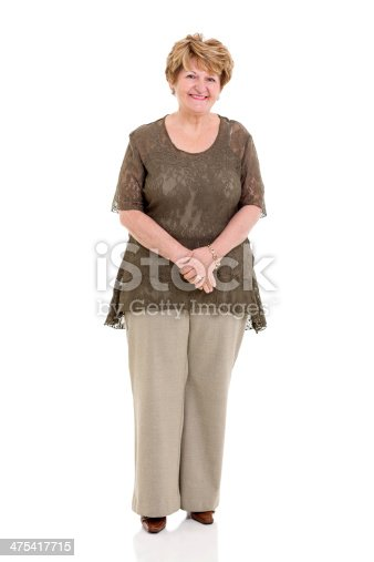 istock happy senior woman 475417715