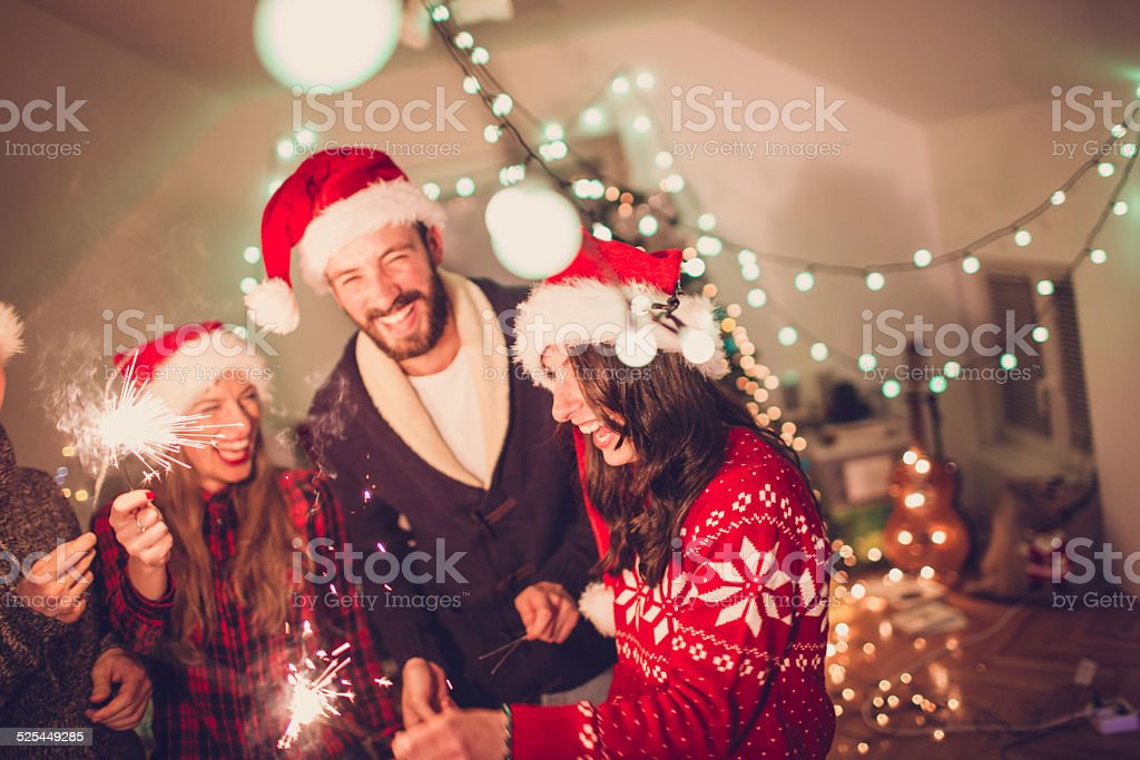 Happy Shinny New Year! stock photo
