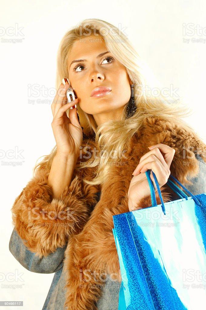 Happy shopping 01 royalty-free stock photo