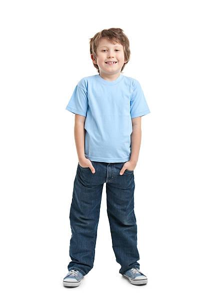 happy small boy stock photo