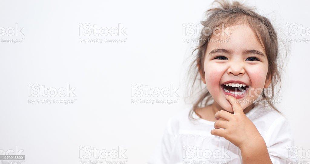 Happy Small Girl – Foto