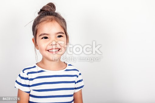 istock Happy Small Girl 842311774