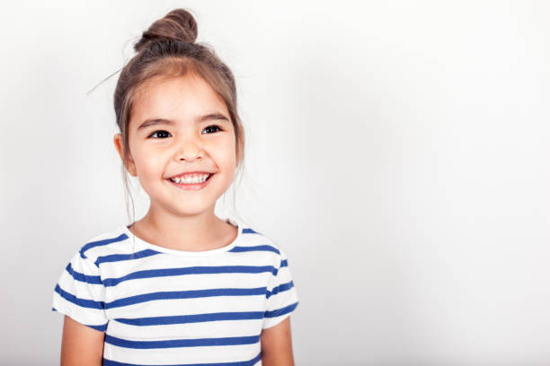 Heureuse petite fille - Photo