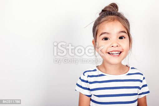 istock Happy Small Girl 842311786