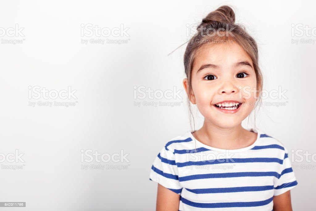 Happy Small Girl - foto stock