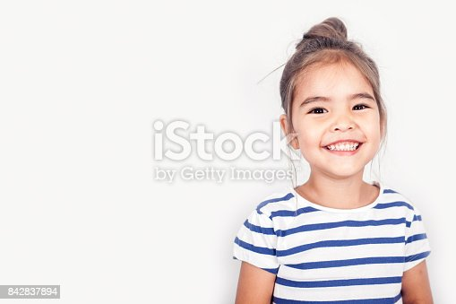 istock Happy Small Girl 842837894