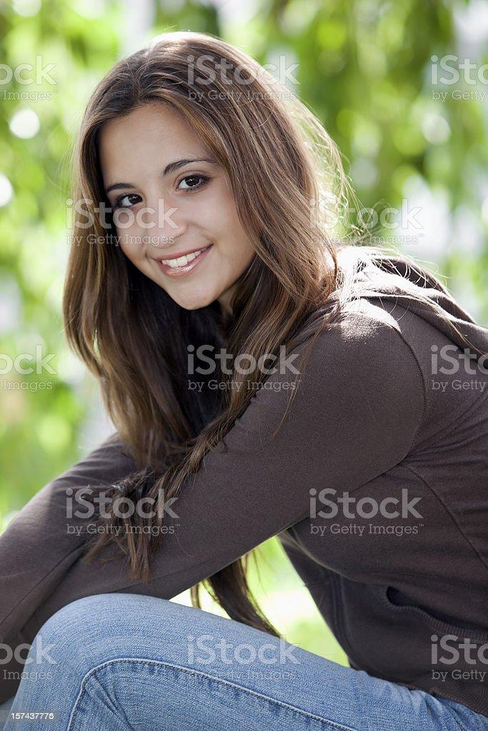 Happy smile. royalty-free stock photo