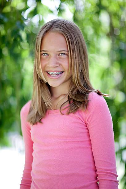 Happy smile. stock photo